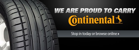 Continental Tires Near Me | Tire Rack Continental Tires